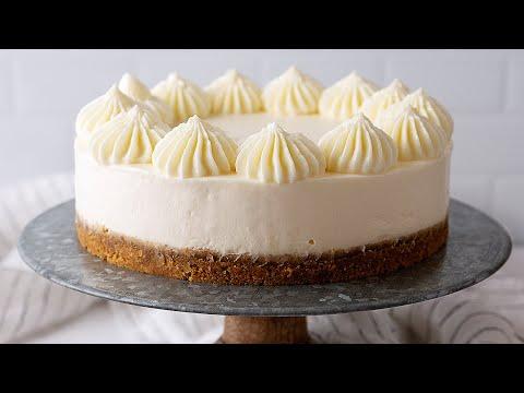 No-Bake Vanilla Cheesecake