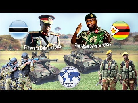 Botswana VS Zimbabwe Military Power Comparison 2018