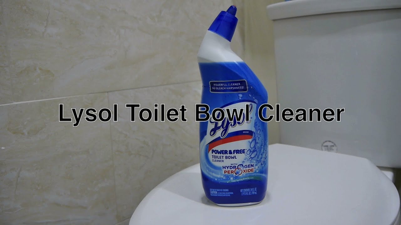 Lysol Toilet Bowl Cleaner Works the Best For the Money