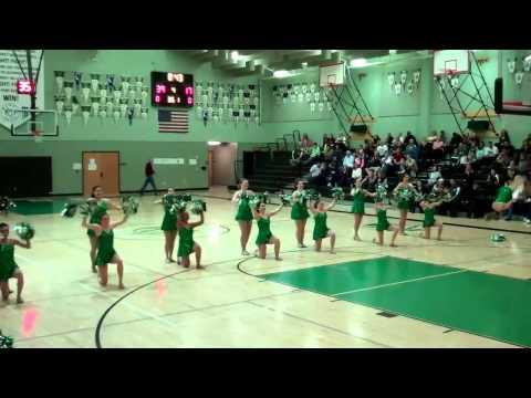 Dixon High School Dance Team - Pom Pom Dance 1/25/13