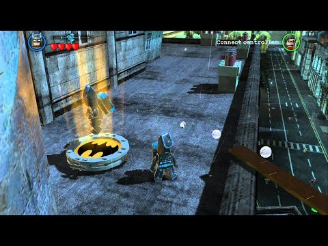 LEGO Batman 2 DC Super Heroes - All Gold Bricks in Gotham City South - City Hall & West Side