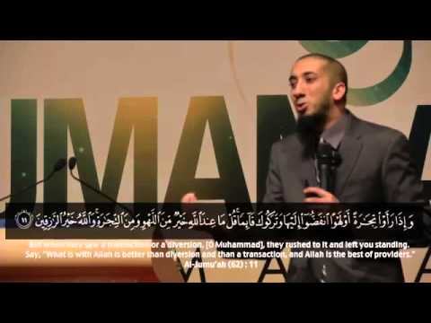 Drinks of Paradise (Full Version), Lol  Awesomeness !!! - Nouman Ali Khan