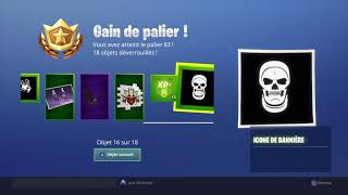 GLITCH FOR PALIER 100 ON FORTNITE (SAISON 6)