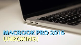 """13"""" MacBook Pro 2016 Unboxing! (Late 2016, Two TB Ports, Silver)"""
