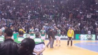 النشيد الجزائري والتونسي قبل نهائي كرة اليد