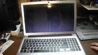 видео Ремонт ноутбука Acer Aspire V5-431P