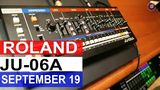 Roland Boutique JU06a | Roland 1909 Launches