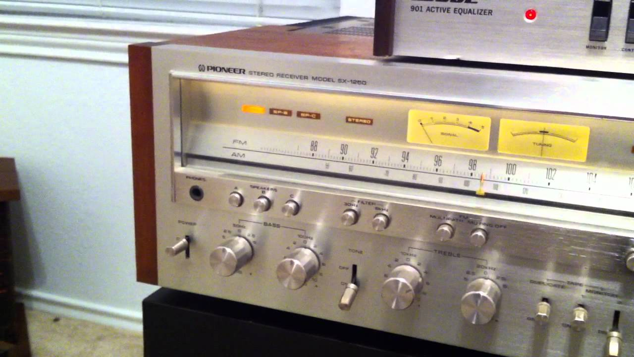 bose 901 vintage. pioneer sx-1250 + bose 901-ii speakers and equalizer dual 1229 phonograph - youtube 901 vintage