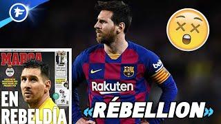 Lionel Messi part au clash avec le FC Barcelone | Revue de presse