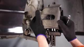 Разглобяване на преден ляв Спирачни апарати онлайн инструкции