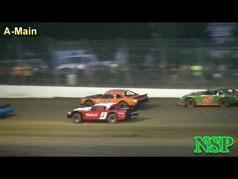 July 8, 2017 Street Stocks A-Main Grays Harbor Raceway