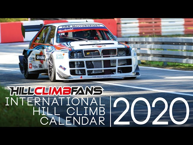 PURE SOUND of Int. Hill Climb Calendar 2020
