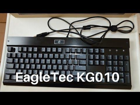 c1709916a26 EagleTec KG010 Mechanical Keyboard Unboxing
