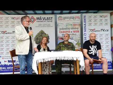 Jaroslav Bašta, Lenka Procházková, Petr Hampl, Ivo Gec : Vlastenecké setkání 10.8.2019