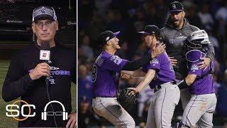 Bud Black reacts to managing the Rockies past the Cubs in Wild Card Game | SC with SVP | ESPN