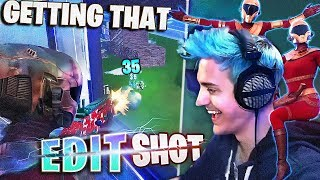 CHEEKY EDIT SHOTS IN DUOS! - Fortnite Battle Royale
