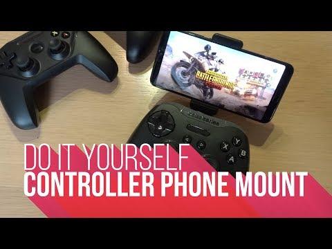 DIY | Controller Phone Mount (PUBG)