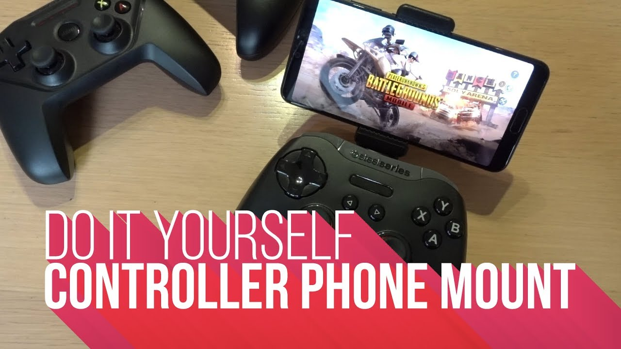Diy Controller Phone Mount Pubg Youtube