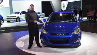 2012 Hyundai Accent Walkthrough New York Auto Show 2011
