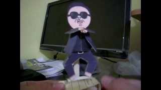Papercraft  [Psy] Gangnam Style (Animation Papercraft)