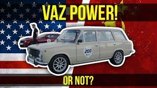 500HP VAZ 2102 vs. 800HP Chevrolet Camaro ZL1. Unlim Highlights