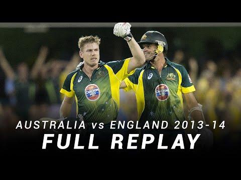 LIVE Flashback: Australia V England | Brisbane, Second ODI 2013-14