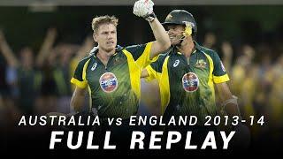 LIVE Flashback: Australia v England   Brisbane, Second ODI 2013-14