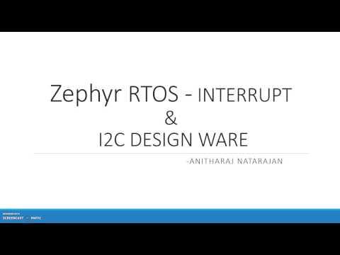 Zephyr RTOS - Interrupt & I2C - YouTube