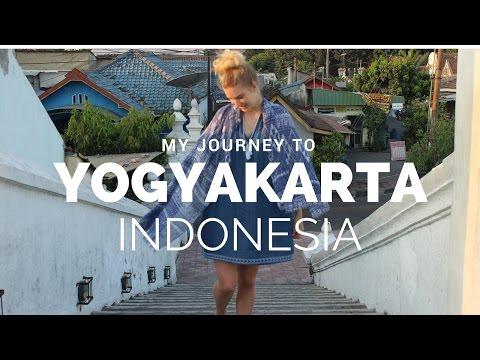 My journey to Yogyakarta, Indonesia