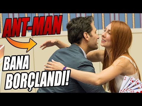 ANT-MAN İLE OYUN OYNADIK: BANA BÖYLE BORÇLANDI!