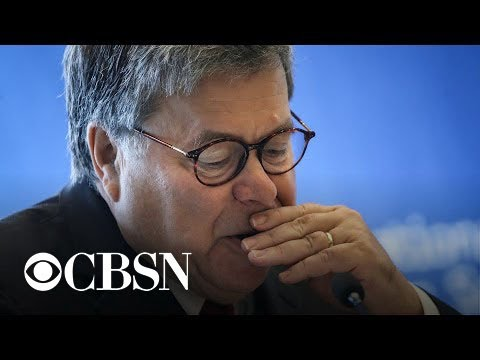 Trump denies he wanted Barr to hold press conference on Ukraine probe