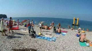 Новомихайловский. Дикий пляж. 5 августа 2017г.