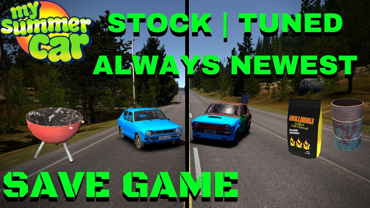 Stock Tuned Satsuma Save Game For Newest Version My Summer Car 109