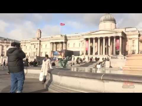 Explore Trafalgar Sqaure - London: Video Travel Guide