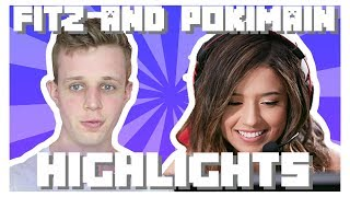 Pokimane & Fitz Minecraft Monday Highlights