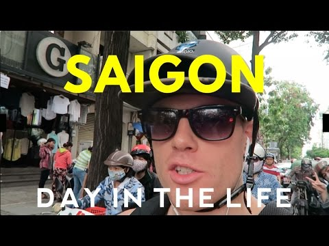 A DAY IN THE LIFE: Digital Nomads in Saigon 🌏  (Part 1/2) (Ho Chi Minh City Vietnam Travel Vlog)