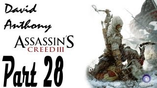 Assassins Creed 3 Part 28 Chasing Benjamin Church (Commentary)