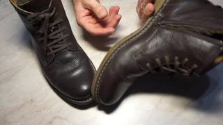Обзор - Зимние ботинки! До и после....!!