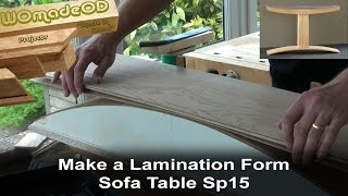 Making A Laminating Form - Sofa Table Sp15 Build Part 1