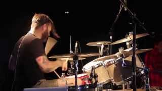 Dance Gavin Dance - Uneasy Hearts Weigh The Most [Matthew Mingus] Drum Video Live [HD]