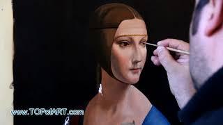Leonardo - Lady with an Ermine | Art Reproduction Oil Painting