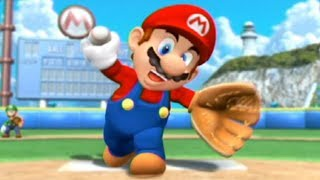 【4人実況】マリオの野球ゲームがぶっ飛びすぎてて面白い