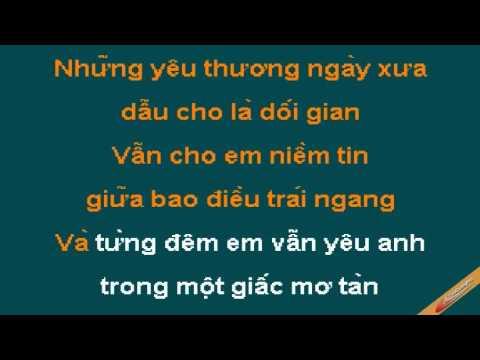 Dung Xa Em Nhe Karaoke - Quế Vân - CaoCuongPro