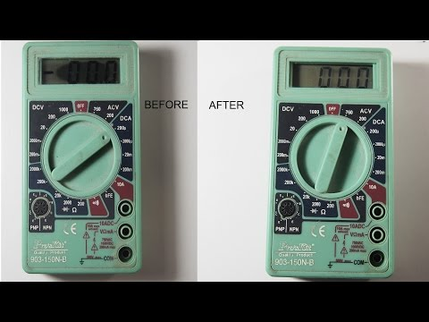 How to fix Lcd display blackspot
