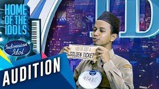 PRANK!!! Bahasa Banjar PNS Alabio mendapatkan Golden Ticket - AUDITION 6 - Indonesian Idol 2020