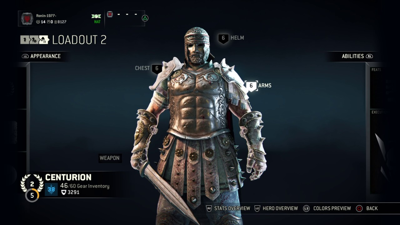 how to get centurion on for honor