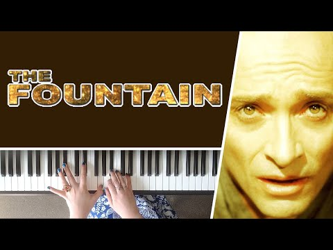 """Together We Will Live Forever from """"The Fountain"""" - Piano Cover + Sheet Music"""