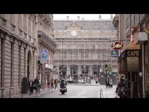 Paris metro: Train ambient meditation