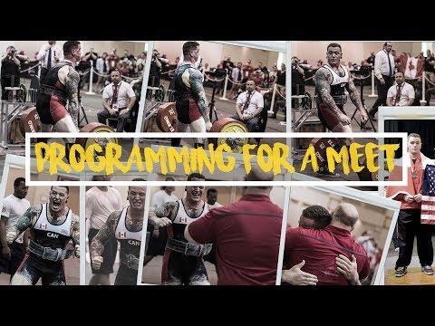 PROGRAMMING FOR A MEET (+ FREE 8 WEEK PROGRAM)