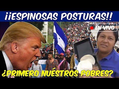 Crece indignación por Caravana Hondureña. Mexicanos enojados porque critican nuestra comida.